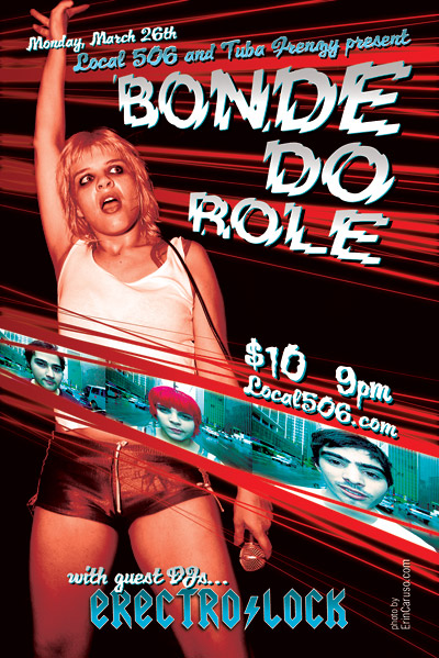 Flyer for Bonde do Role event