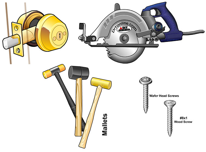 Vector images of tools