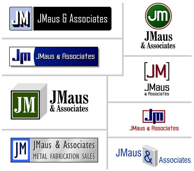 Logo concepts for Jim Maus & Associates