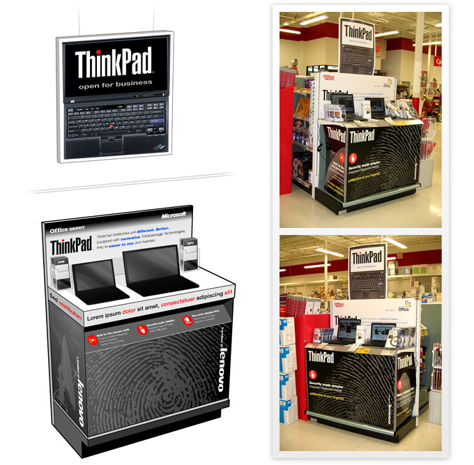 Lenovo ThinkPad display for Office Depot