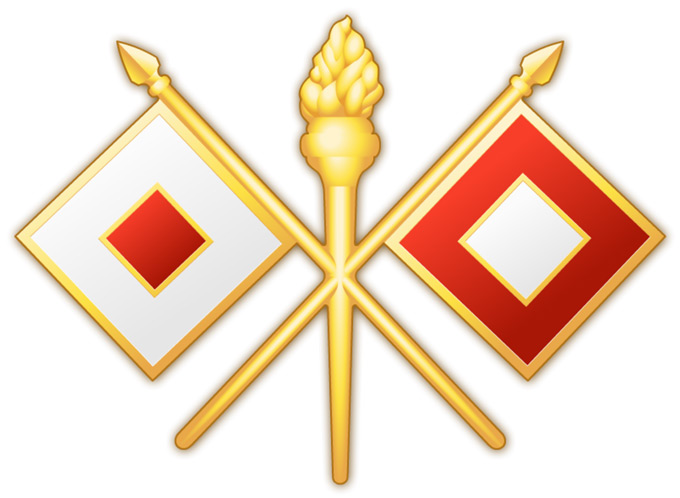 S6 Signal Corps insignia for RTI International