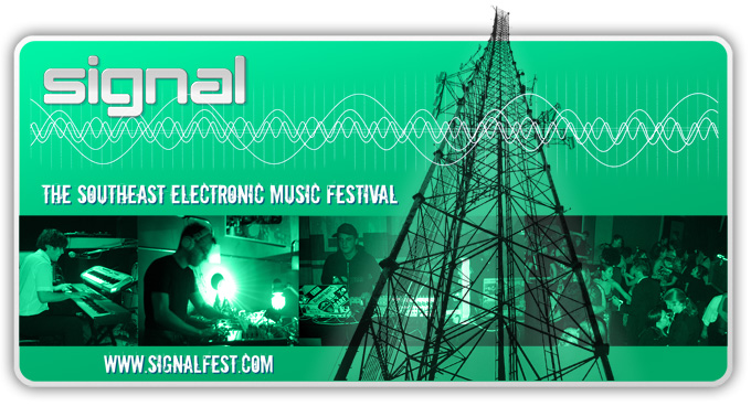 Web banner/splash image used for Signal Festival 2006